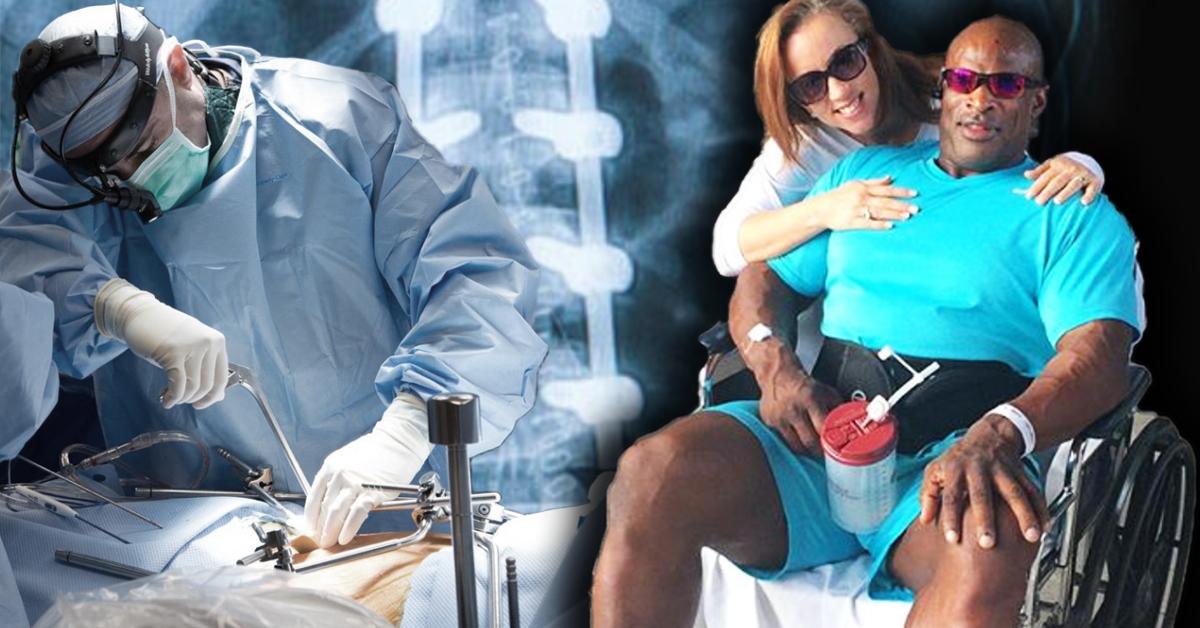 Schockierende Neuigkeiten: Ronnie Coleman wegen OP-Fehlern