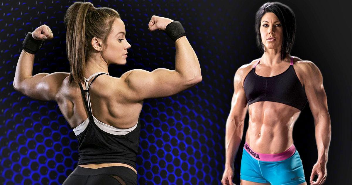 Bei frauen muskeln Muskeln bei