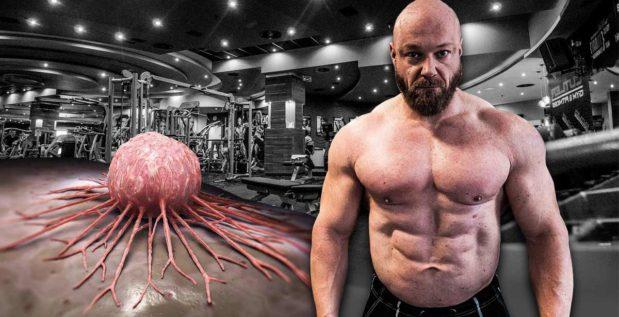 Titelbild: So stark leidet die Bodybuilding-Karriere von Johannes Luckas unter Hautkrebs