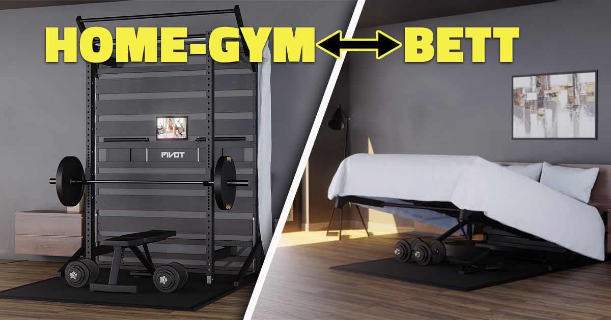 Titelbild: Pivot - Von Bett zu Home-Gym in Nullkommanix