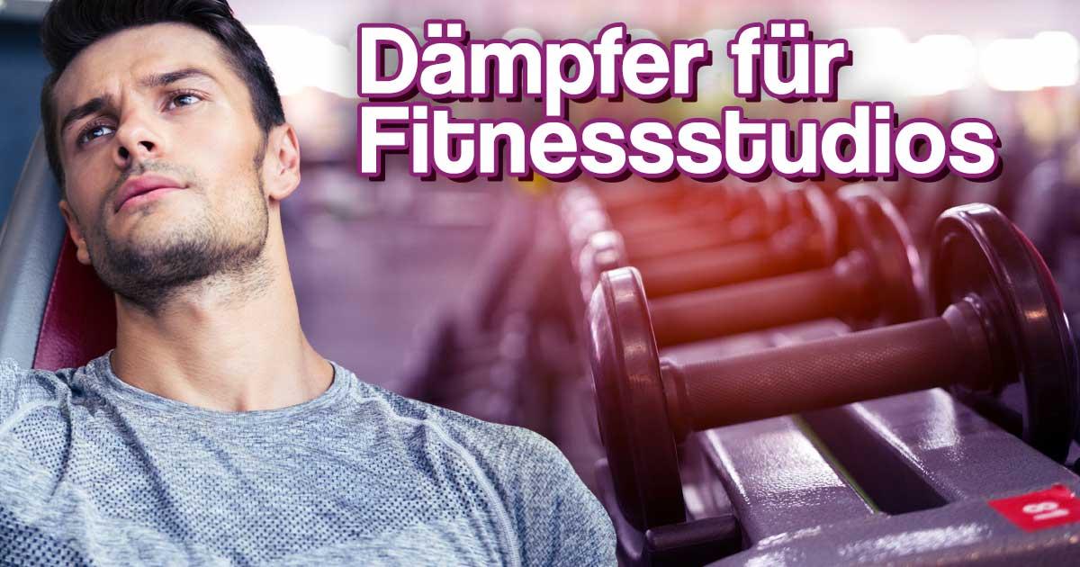 Titelbild: Dämpfer für Fitnessstudios