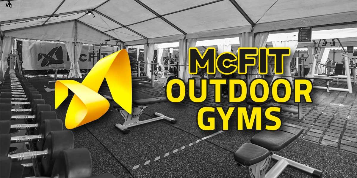 Titelbild: McFit Outdoor-Gyms