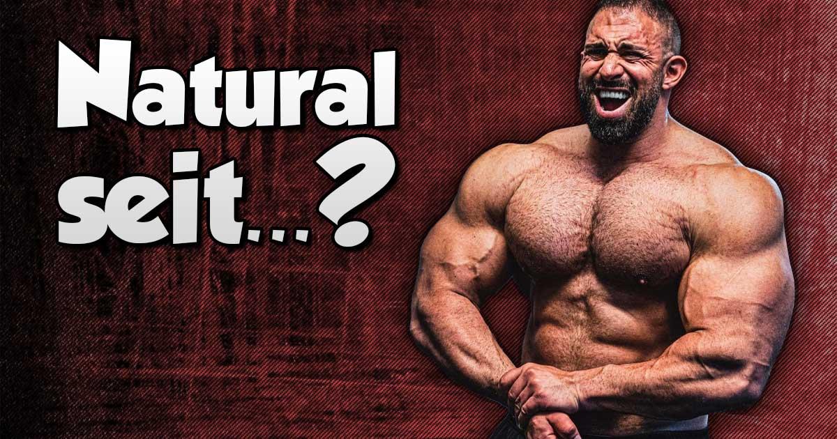 Titelbild: Kevin Wolter ist natural seit...?