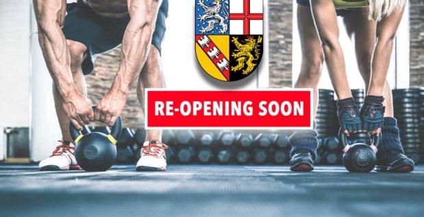 Titelbild: Saarland will Fitnessstudios eröffnen
