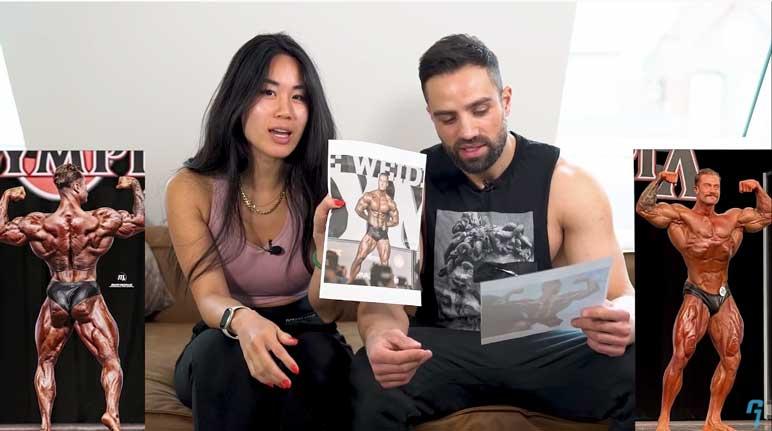 Bild: Goeerki analysiert mit seiner Freundin die Ergebnisse einer australischen Studie