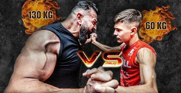 Titelbild: Ex-Hardgainer Vito kämpft gegen 60-Kilo-Athlet