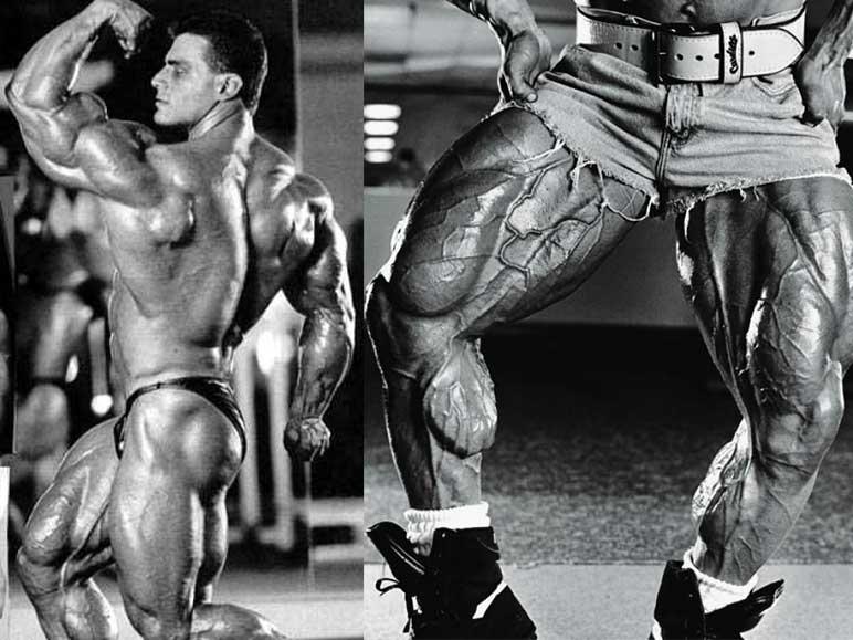 Bild: Die Beine von Paul Demayo