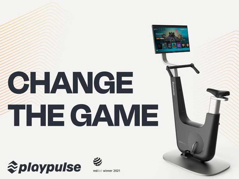 Bild: Das neue Fitness-Bike von playpulse