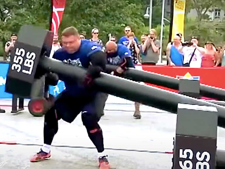 Bild: Norse Hammer World's Strongest Man 2015