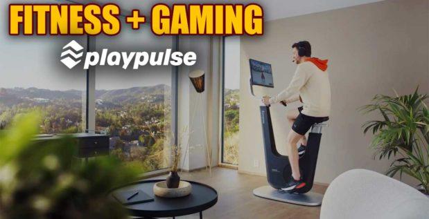 """Titelbild: Playpulse entwickelt Fitnessbike """"One"""" für Gamer und Streamer"""