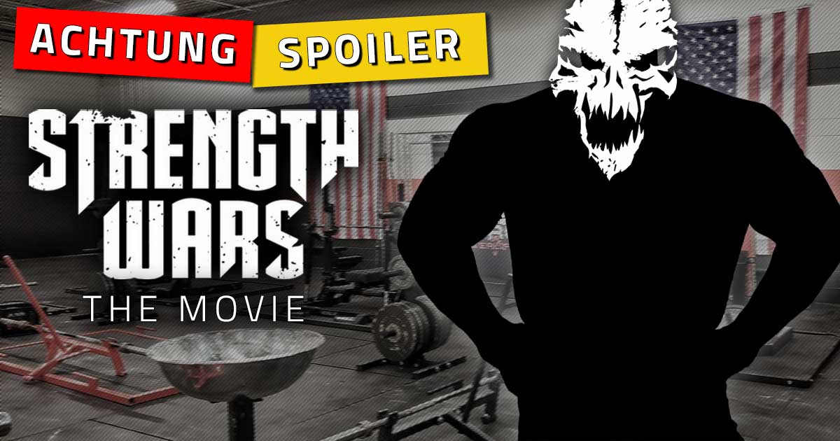 "Titelbild: ER hat ""Strength Wars: The Movie"" gewonnen!"