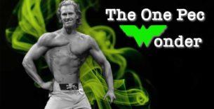 Titelbild: Der Mann mit nur einem Brustmuskel
