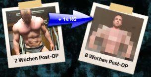 Titelbild: Roman Fritz baut 14 Kilo in nur 8 Wochen auf