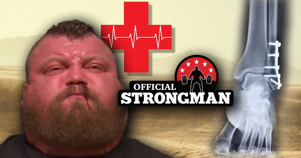 Titelbild: 12 der schlimmsten Verletzungen im Strongman-Sport