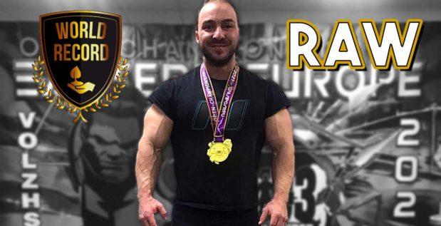 Titelbild: Vladimir Zhadenov stellt Weltrekord auf