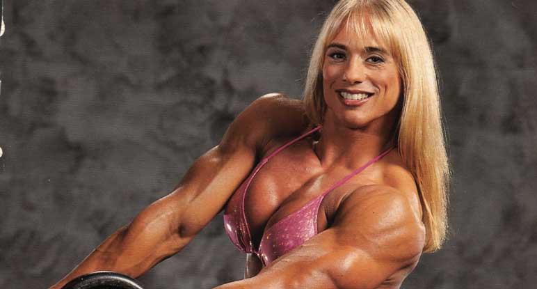 Bild: Denise Rutkowski gehörte zu den erfolgreichen Bodybuilderinnen