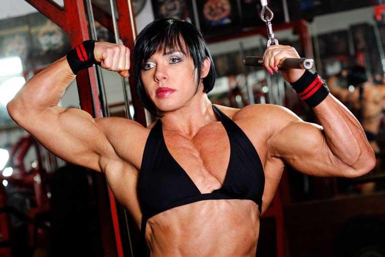 Bild: Bodybuilderin Rene Campbell