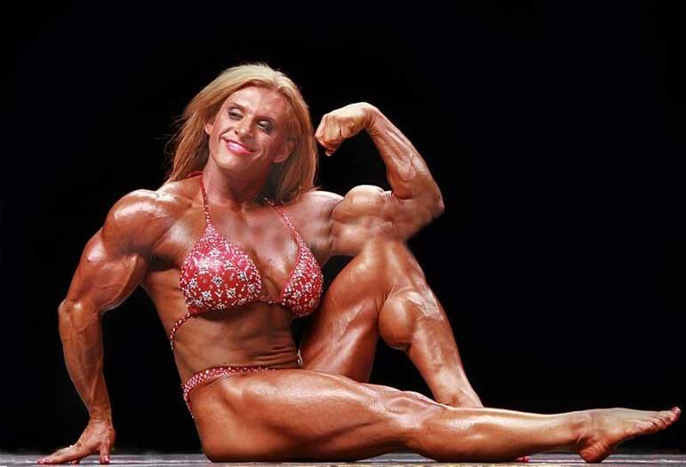 Bild: Joanna Clare Thomas gehörte zu den jüngsten Pro Bodybuilderinnen