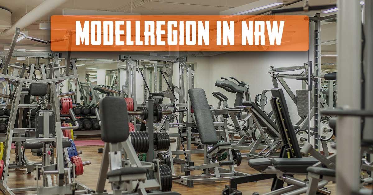 Titelbild: NRW startet Modellprojekt mit geöffnetem Fitnessstudio!