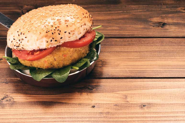 Bild: Veggie-Burger