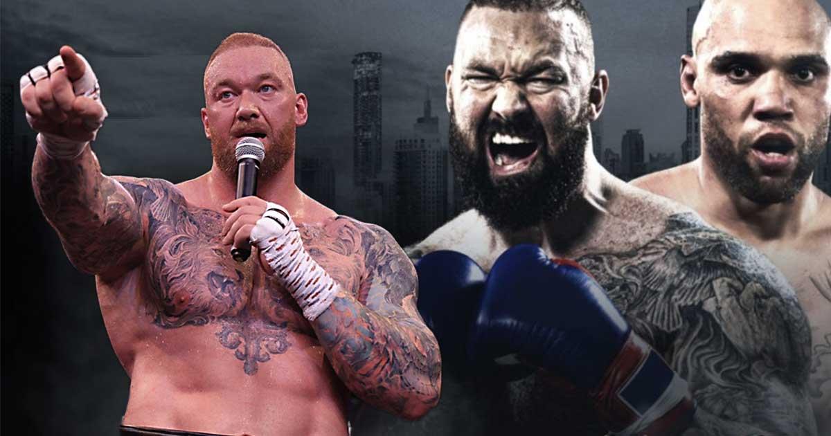 Titelbild: Hafthor Björnsson feuert erneut gegen Eddie Hall!