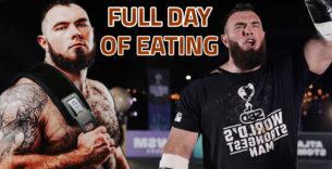 Titelbild: So viel isst der World's Strongest Man von 2020!