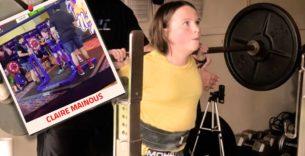 Titelbild: Powerlifterin stellt amerikanischen Rekord im Kniebeugen auf!