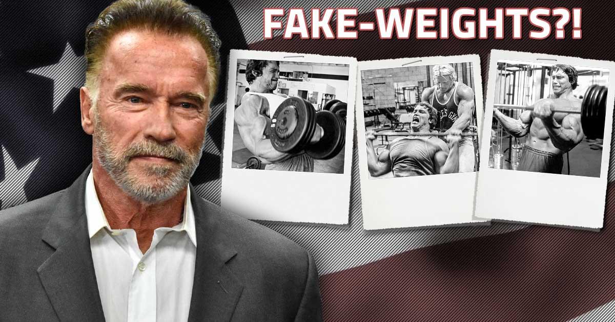 Titelbild: Hat Arnold Schwarzenegger Fake-Gewichte benutzt?