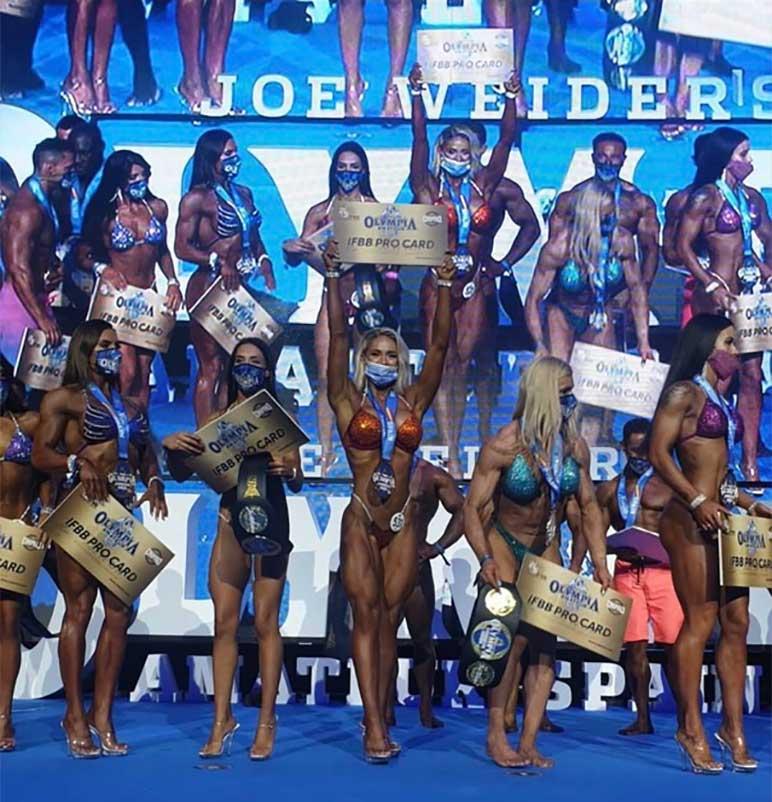 Bild: Mr. Olympia Amateur in Alicante