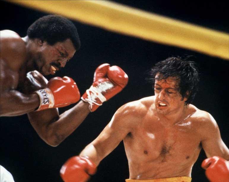"Bild: Sylvester Stallone im Film ""Rocky"""