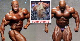 Titelbild: So sieht der Bauch von Phil Heath aktuell aus!