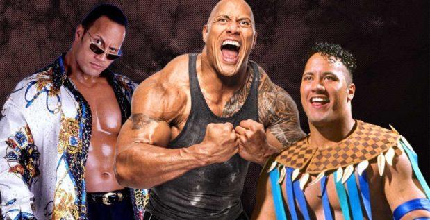 """Titelbild: Die 25-Jahre-Transformation von """"The Rock"""""""
